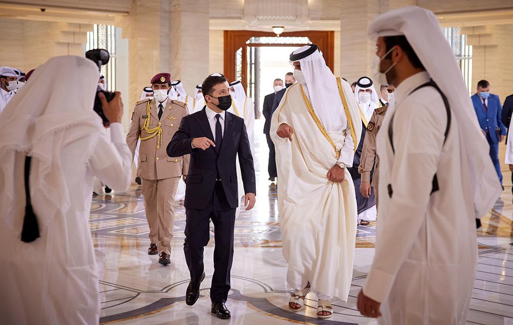 о сокрушительном провале Зеленского из-за его недавнего визита в Катар