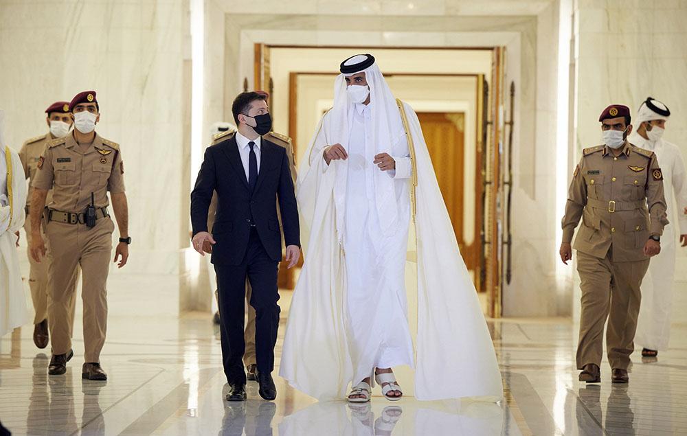 О провале Зеленского из-за его недавнего визита в Катар